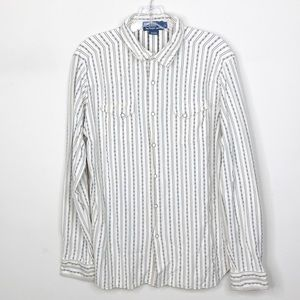 VTG Polo by Ralph Lauren Western Pearl Snap Shirt